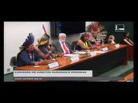 DIREITOS HUMANOS E MINORIAS - Povos indígenas no Brasil - 24/04/2018 - 14:43