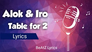 Baixar 🎙️Alok ft. IRO | Table for 2 (Lyrics)