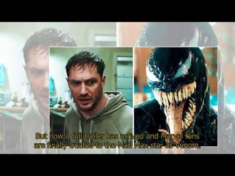 Venom NEW trailer: Tom Hardy's Marvel anti-hero FINALLY revealed in latest teaser – WATCH