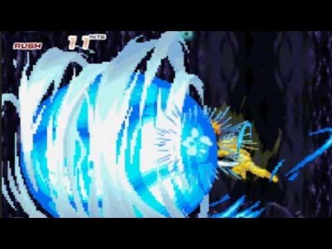 Naruto (Sage Mode and Kyuubi Chakra Mode) Playthrough | Bleach vs Naruto 2.6