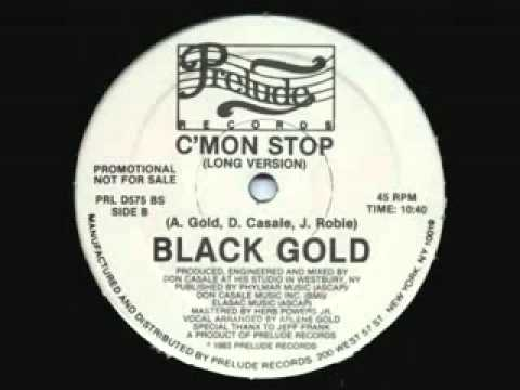 80's Boogie - Black Gold -  C'mon Stop Instrumental version 1983