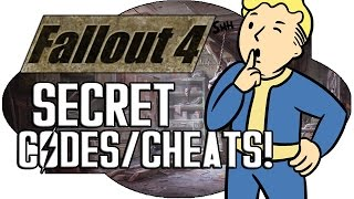 FALLOUT 4 - ALL SECRET CODES/CHEATS!