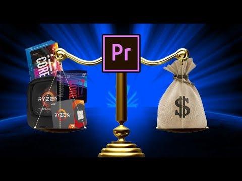 El mejor CPU para Edición de video en Premier Pro CC ed. Dic 2018 - Droga Digital