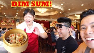 DIM SUM FEAST In Orange County! MUKBANG?