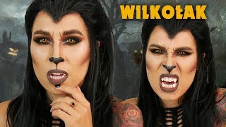 ♦ Makijaż Wilkołaka na Halloween 🎃 ♦ Agnieszka Grzelak Beauty