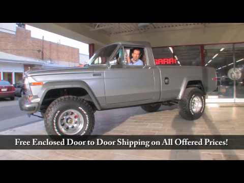1981 Jeep J-20 for sale with test drive, driving sounds, and