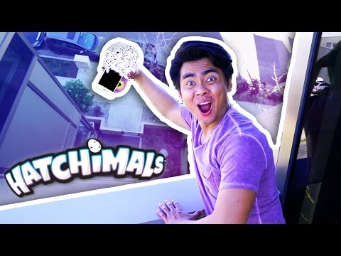 Thumbnail: Can A HATCHIMAL Protect iPHONE 7 From 100 FT DROP?