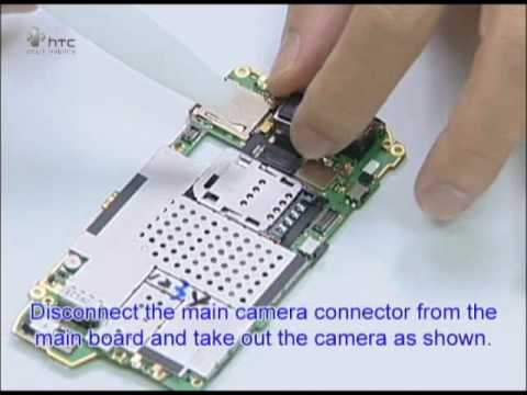 HTC HERO G2 Disassembly Video