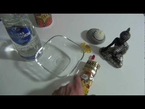 How to make Vodka Gummy Bears with ROCKSTAR Flavor