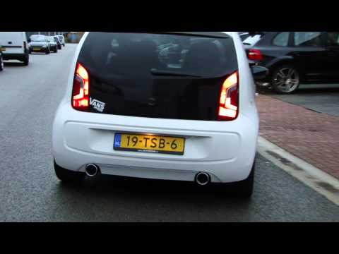 vw up double exhaust sound sportauspuff echappement take. Black Bedroom Furniture Sets. Home Design Ideas