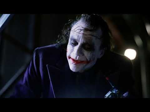 Джокер раскрывает карты.   Тёмный рыцарь. 2008
