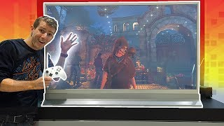 Gaming on the CLEAR TV Prototype! thumbnail