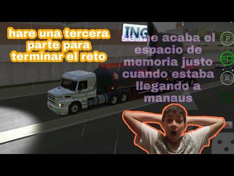 Reto!!! Lauron Muller A Manaus Parte (2) || World Truck Driving Simulator || MATRIX Z