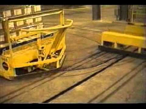 Si Systems Lo Tow 174 In Floor Towline Conveyor System