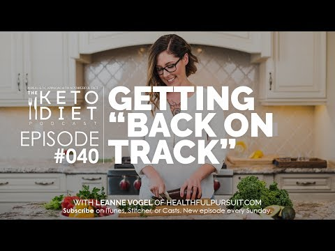 "#040 The Keto Diet Podcast: Getting ""Back on Track"""