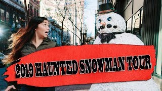 Scary Snowman Haunted Snowman Tour Dates & Locations!  (2019 Trailer)