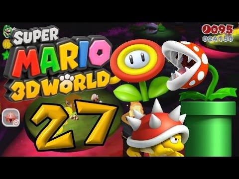 Super Mario 3D World Part 27: Die Fackeln des Todes