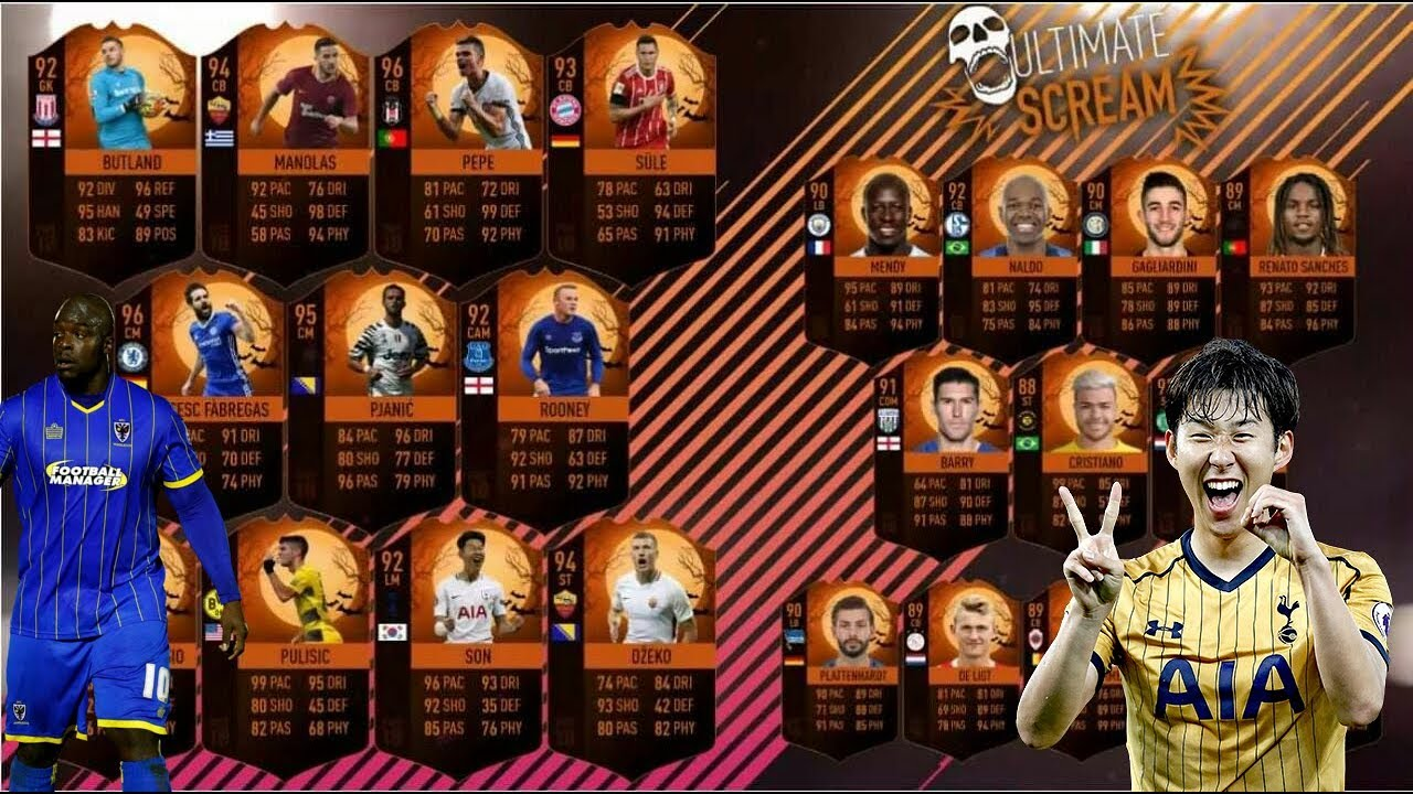 Fifa 18 Scream Karten