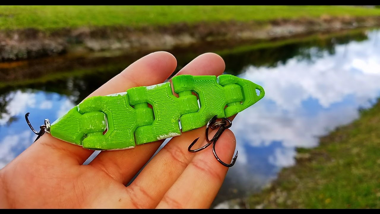 Image result for 3d printed fishing lures