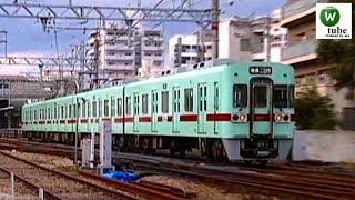 西鉄6000形(6003)普通 春日原駅出発 【天神大牟田線】 2011年1月