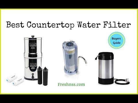 Best Countertop Water Filter Reviews (2020 Buyers Guide)