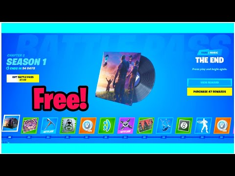 How To Get Free Battle Pass Music In Fortnite Chapter 2 Glitch (Battle Pass Glitch)