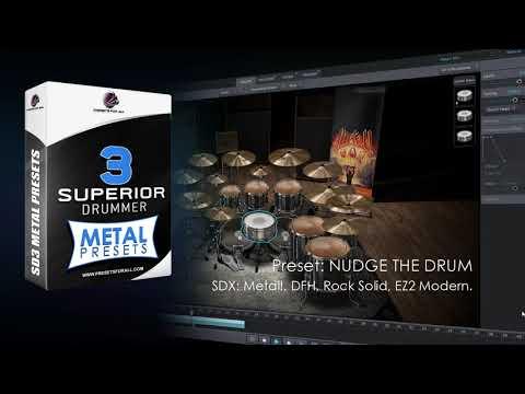 METAL PRESET - Superior Drummer 3 Preset Pack   Presets For All