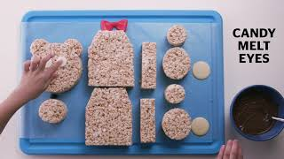 How to make a Rice Krispies teddy bear