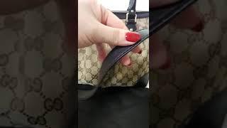 [헬로마켓] - 정품)구찌  투웨이백 (현대백화점142…