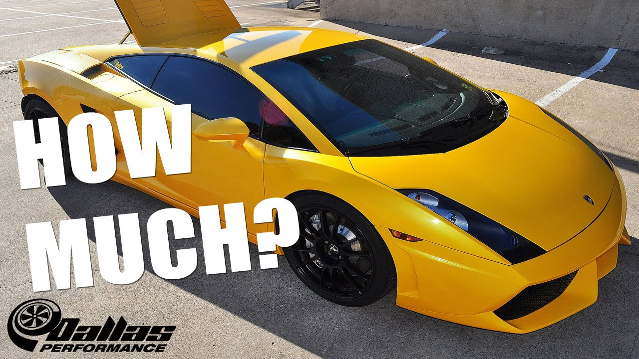 How Much Did It Cost To Twin Turbo My Lamborghini Youtube