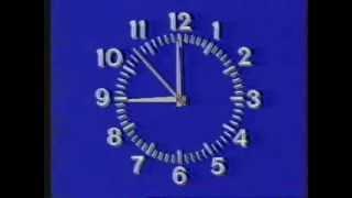 Часы 1-й канал Останкино (12.09.1994 — 31.03.1995)