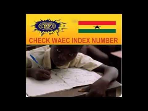 Check WAEC index number