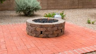 How To Install A Gas Fire Pit