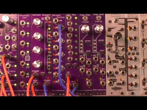 NAMM 2017 Variatic Sequent One Minute Demo