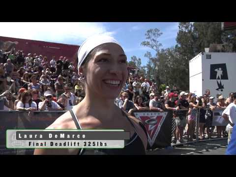 Deadlift Ladder: Women - 2009 CrossFit Games