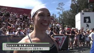 Deadlift Ladder: Women - 2009 CrossFit Games
