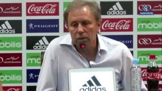 الناخب الوطني لكرة القدم يؤكد على أهمية الفوز في أول لقاء له مع الخضر