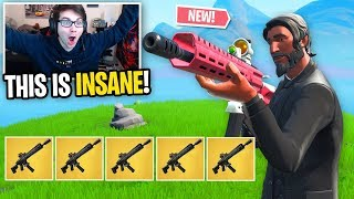 I can ONLY use the *NEW* Tactical Assault Rifle in Fortnite... (is this OVERPOWERED?)