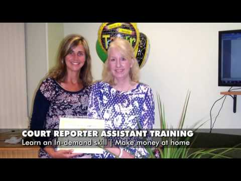 Court Reporter Assistant Training