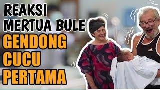 vuclip MERTUA BULE GENDONG CUCU PERTAMA #MERTUA DAN ORANG TUA SERUMAH # TELINGA BAYI LAPAD ALLAH VLOG 82