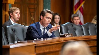 Senator Hawley Grills Google Exec During Judiciary Committee Hearing