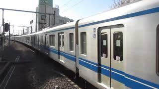 西武20000系20102F大泉学園駅低速通過