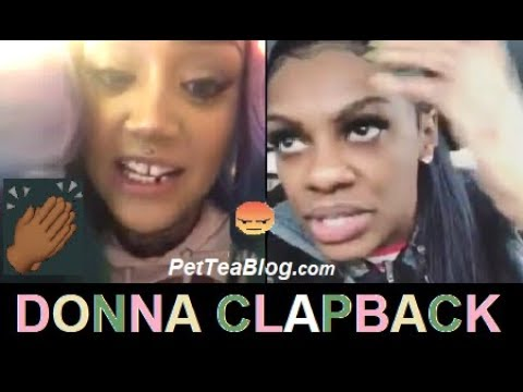 Donna Diss Jess Hilarious for Roasting her  She Look Bad & is Not Funny...  👀