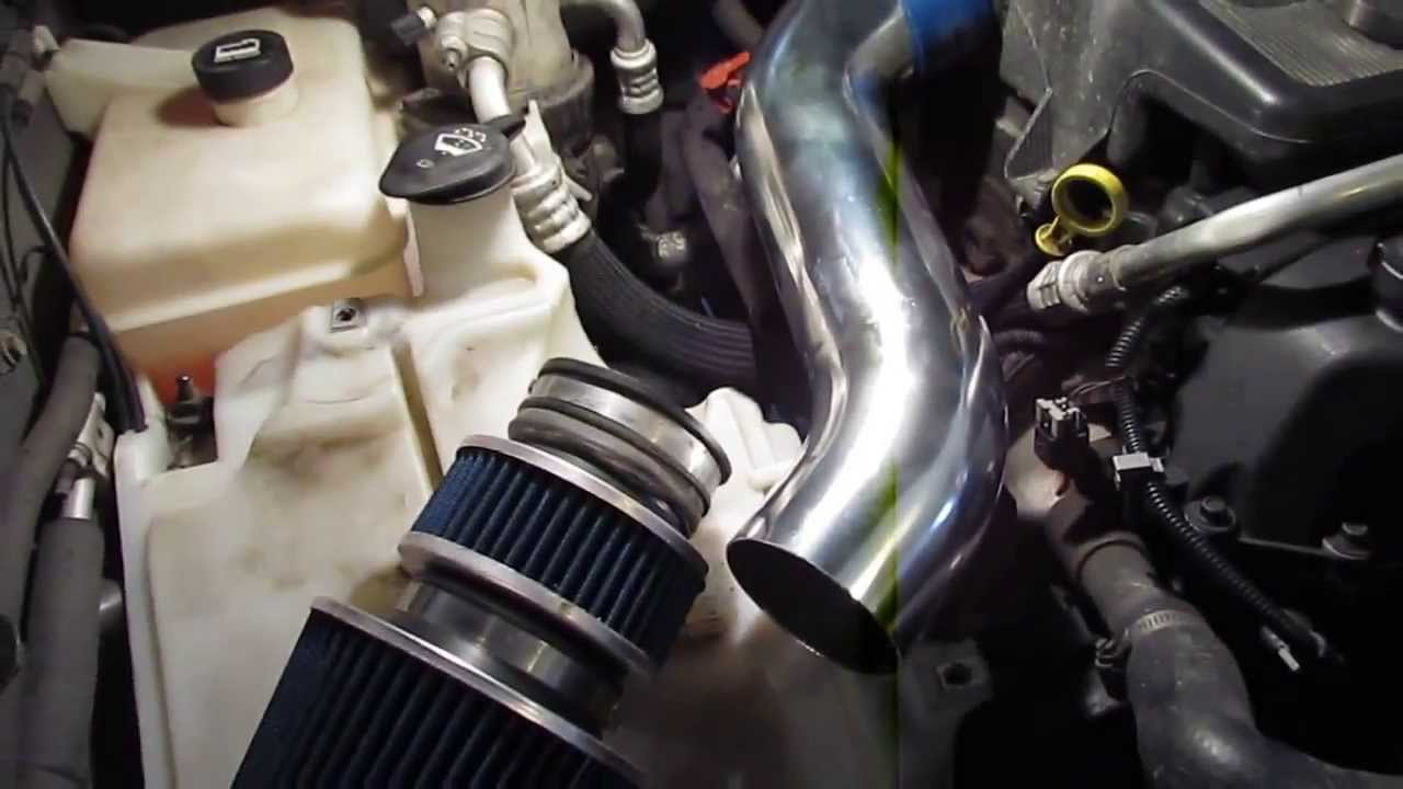 hight resolution of chevrolet trailblazer how to remove the factory install a cold air intake youtube