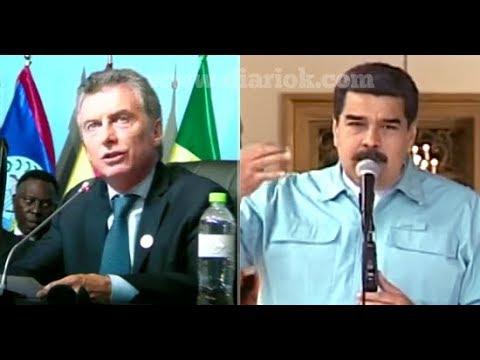 La demoledora respuesta de Maduro a Macri, por sus dichos en la Cumbre de las Américas