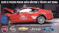 TOP 10 Auta s nejhoršími výsledky z crash testů