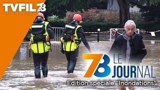 """7/8 Le journal – Édition spéciale """"inondations"""" du vendredi 10 juin 2016"""