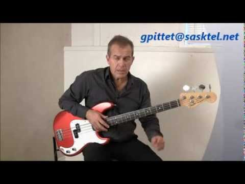 Bass Guitar Lesson by Gerry Pittet   The Authority Song by John Mellencamp