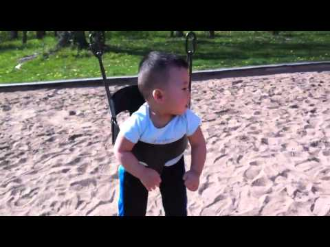 Over 12 months on swings