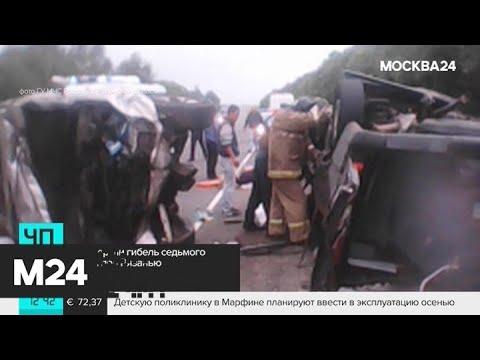 Гибель седьмого человека в ДТП под Рязанью опровергли - Москва 24